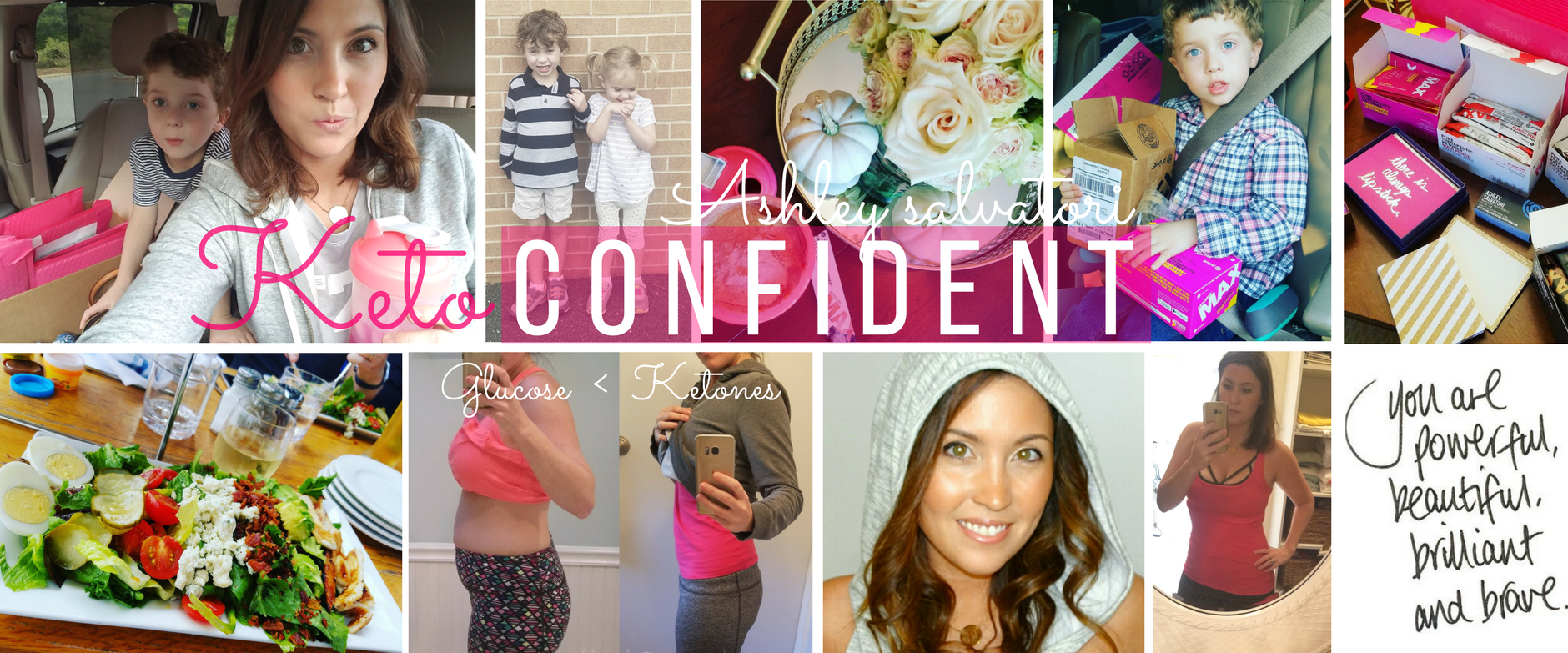 Ashley Salvatori - Keto Confident